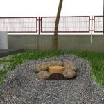Pasul 2 asezati pietre decorative