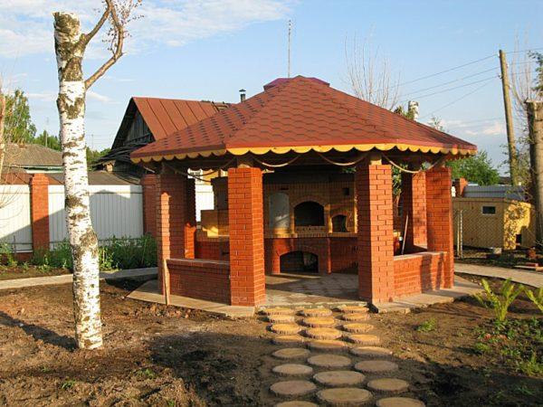 Cum Construim Un Foișor De Grădină Cu Grătar Poze Cu Etapele Pas Cu Pas