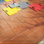 Cum se aplica matritele peste beton