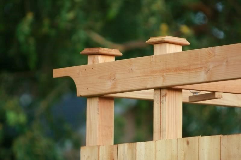 Imbinari lemn cabina dus gradina