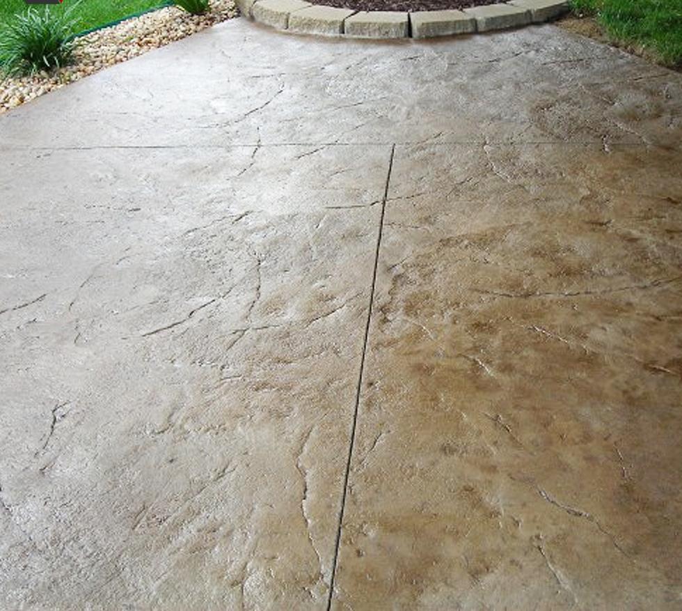 Model simplu de beton amprentat