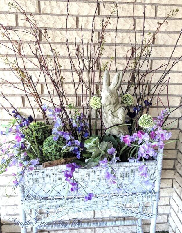 Aranjament floral pentru Pasti