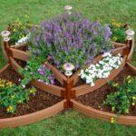 jardiniera din lemn compartimentata