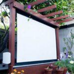 panou pentru cinema exterior